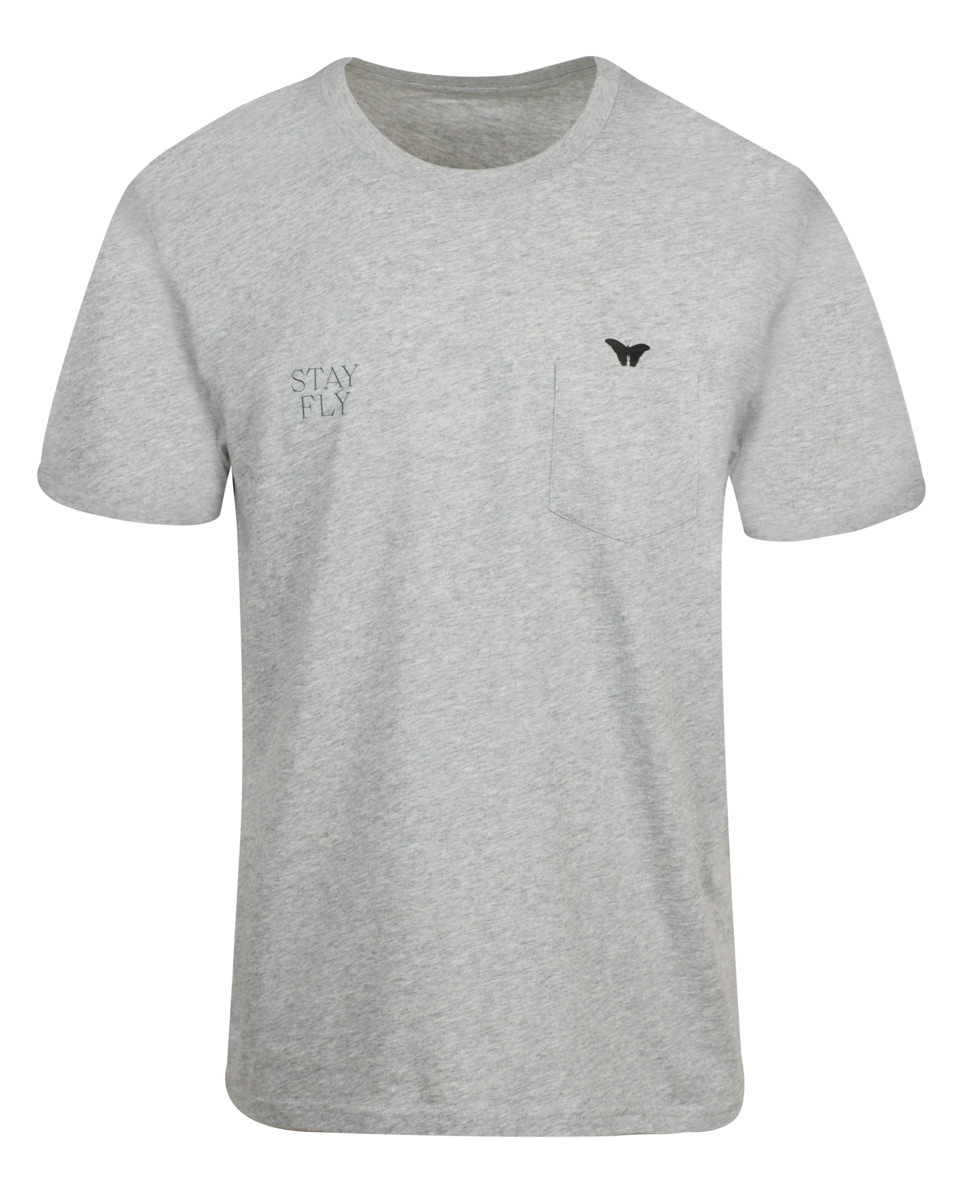 STAY FLY POCKET TEE